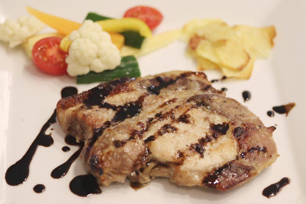豚ロース肉玉葱塩麹のマリネグリル